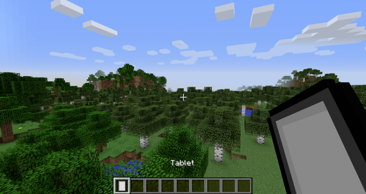 Charset Tablet mod for minecraft 01