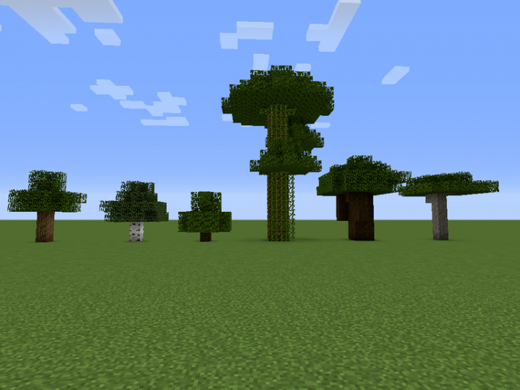 Chop Down Updated mod for minecraft 01