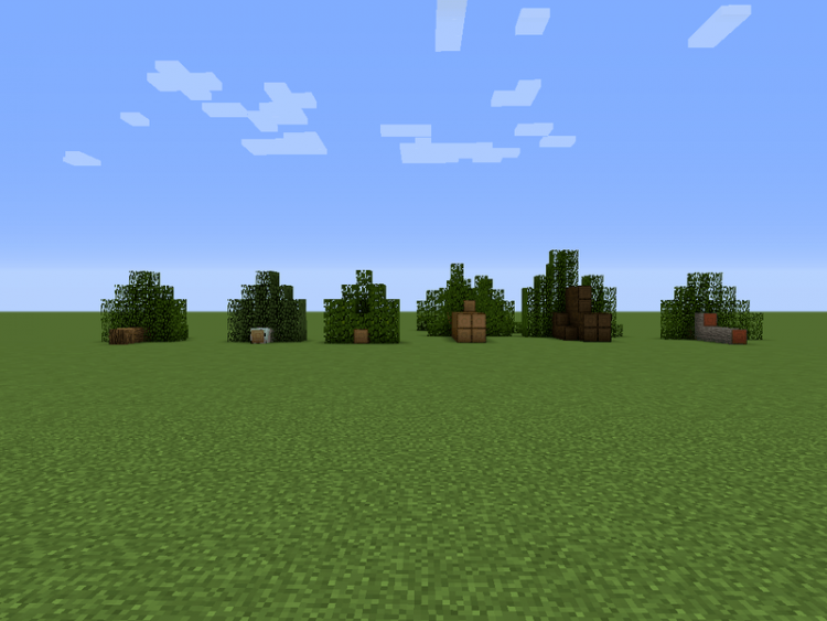 Chop Down Updated mod for minecraft 02