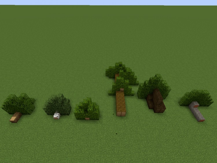 Chop Down Updated mod for minecraft 03