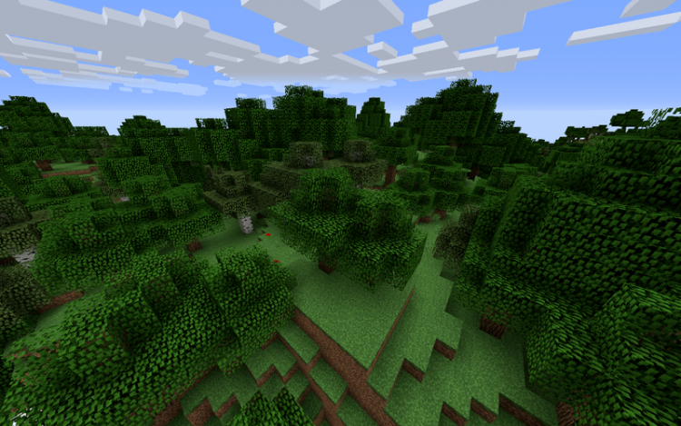 Chop Down Updated mod for minecraft 04
