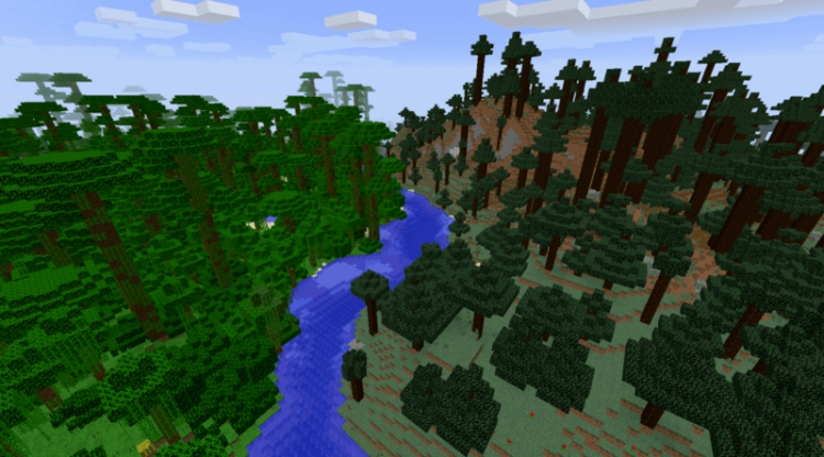 Chop Down Updated mod for minecraft 06