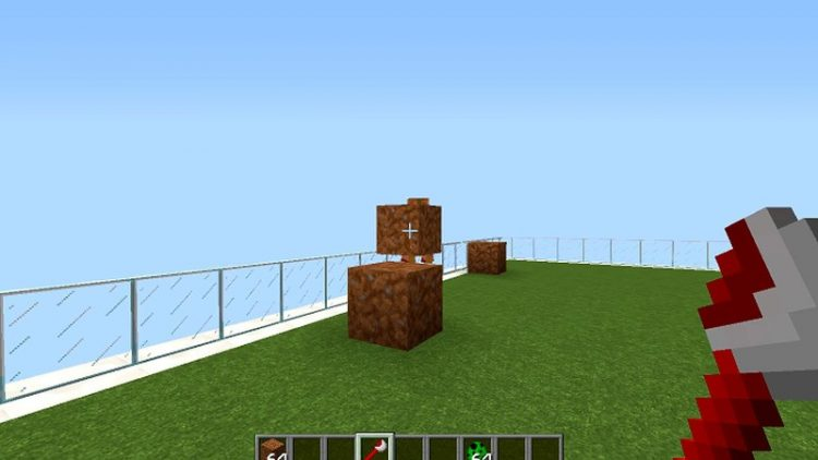 Dirt Flinger mod for minecraft 07