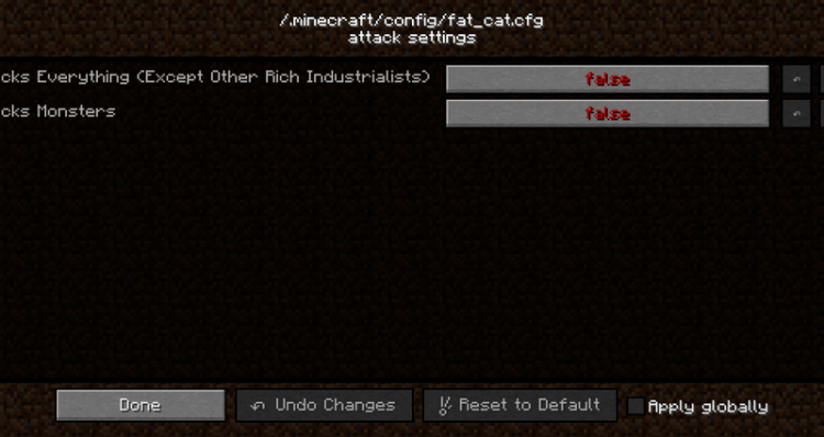 Fat Cat mod for minecraft 07