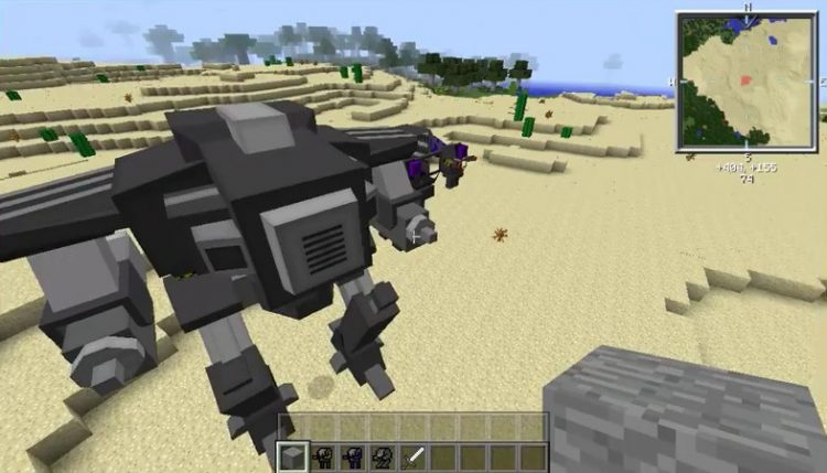 Flans Mecha Parts Pack mod for minecraft 01