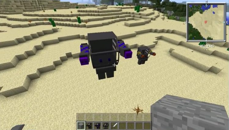 Flans Mecha Parts Pack mod for minecraft 02