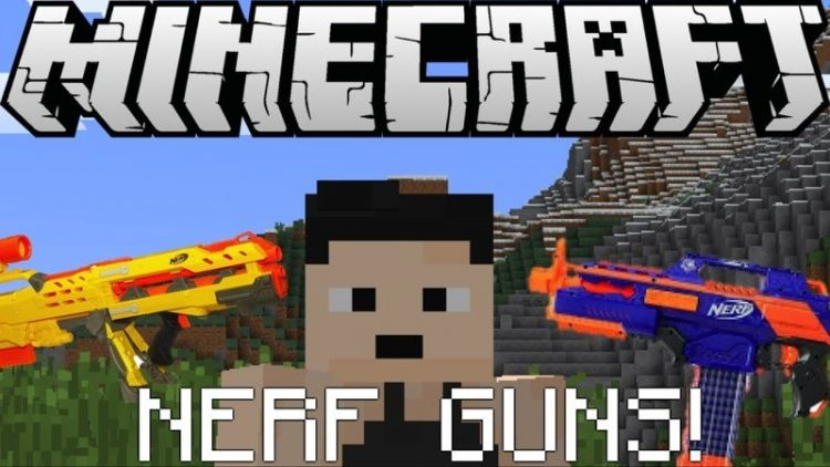 Flans Nerf Pack mod for minecraft logo