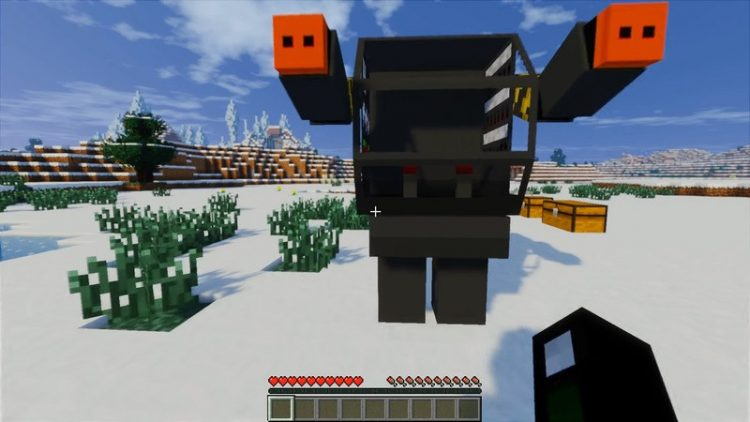 Flans Titan Pack mod for minecraft 04