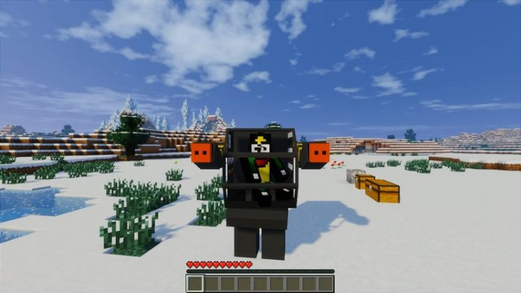 Flans Titan Pack mod for minecraft 05