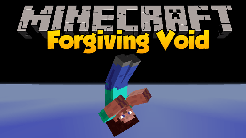 Forgiving Void mod for minecraft logo