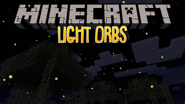 Light Orbs mod for minecraft logo