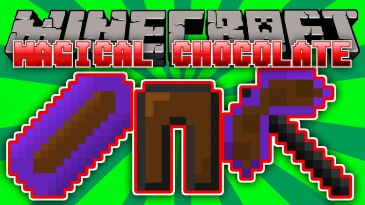 Magical Chocolate mod for minecraft logo