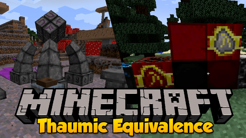 Thaumic Equivalence mod for minecraft logo