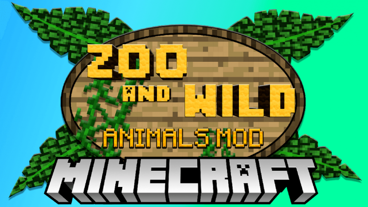 Zoo and Wild Animals mod for minecraft logo