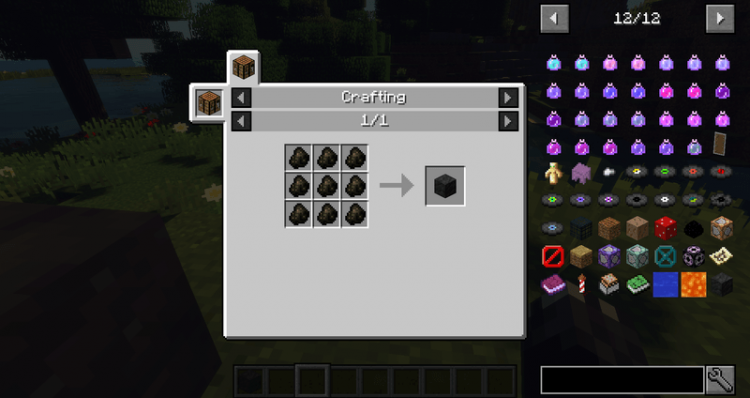 A Block Of Charcoal mod for minecraft 03
