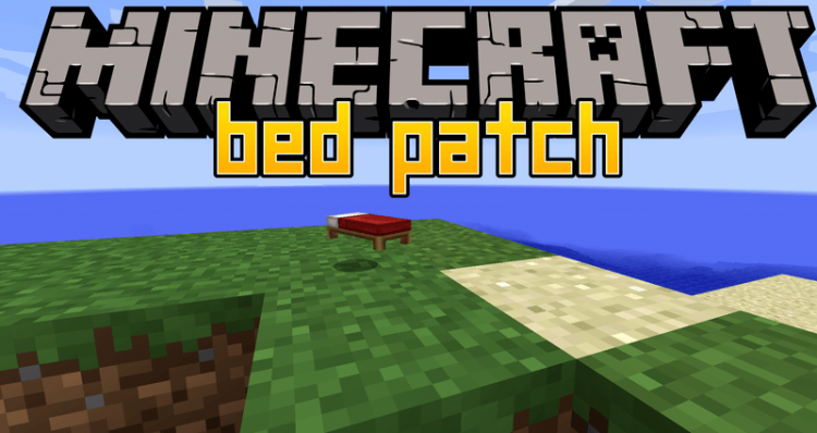 Bed Patch mod for minecraft logo