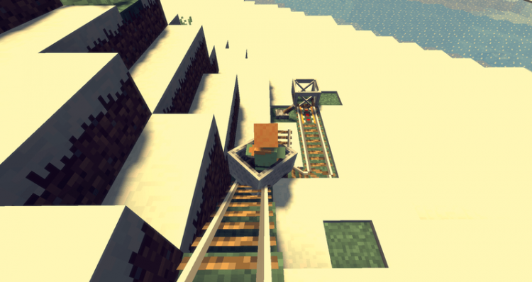 Better Railroads Mod for minecraft 01