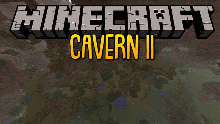 Cavern 2 mod for minecraft logo