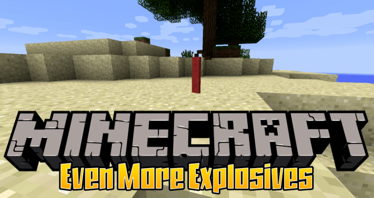 Even More Explosives mod for minecraft logo
