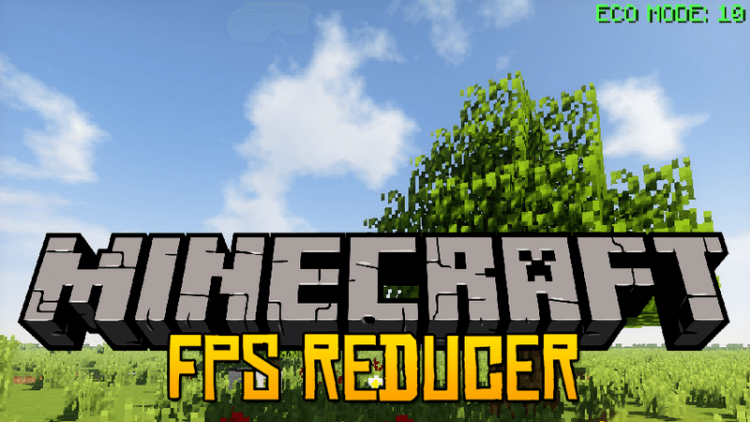 FPS Reducer mod for minecraft logo