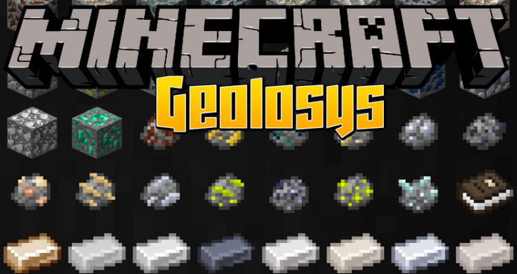 Geolosys mod for minecraft logo