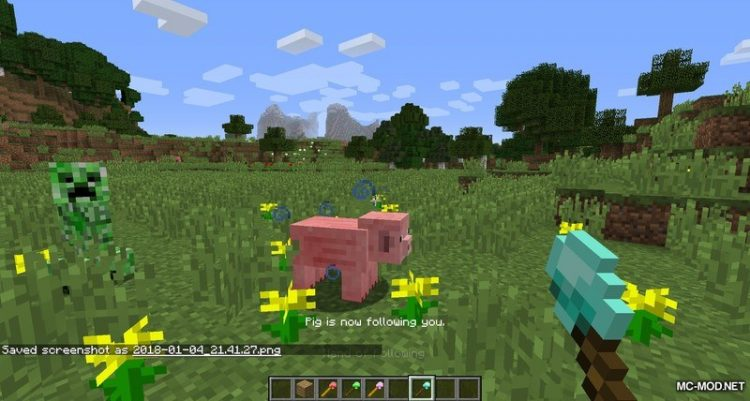 Mob Control Wands Mod for Minecraft 1