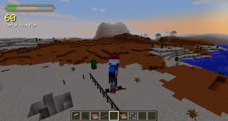 MrCrayfishs Skateboarding Mod for minecraft 03