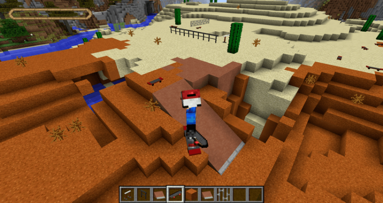 MrCrayfishs Skateboarding Mod for minecraft 06
