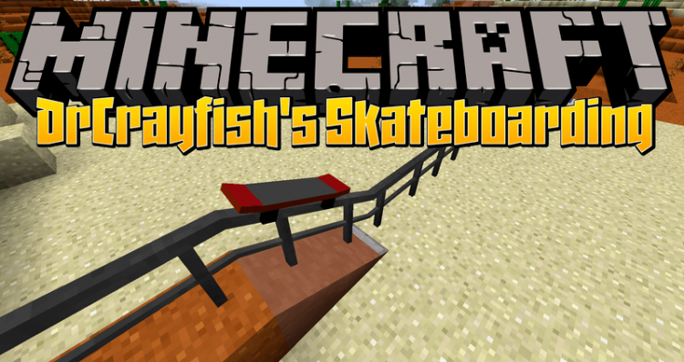 MrCrayfishs Skateboarding Mod for minecraft logo