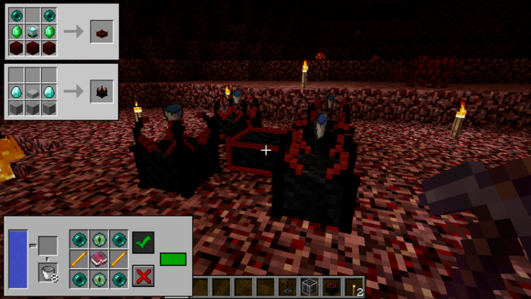 Nether Utils mod for minecraft 06