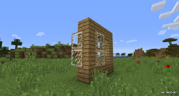 OpenableWindows Mod for Minecraft 4