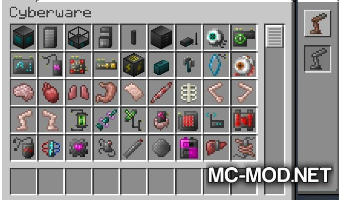 Robotic Parts Mod for Minecraft 5