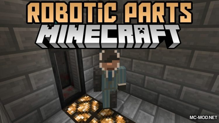 Robotic Parts Mod for Minecraft Logo