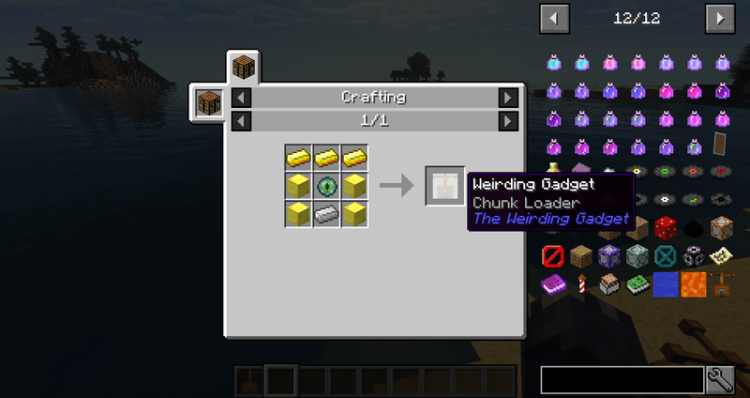 The Weirding Gadget mod for minecraft 04
