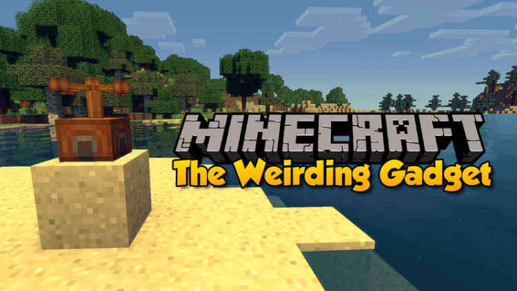 The Weirding Gadget mod for minecraft logo