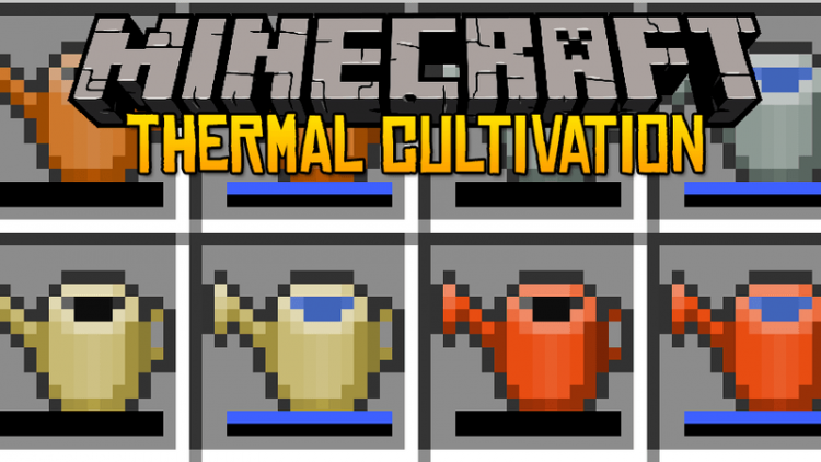 Thermal Cultivation mod for minecraft logo