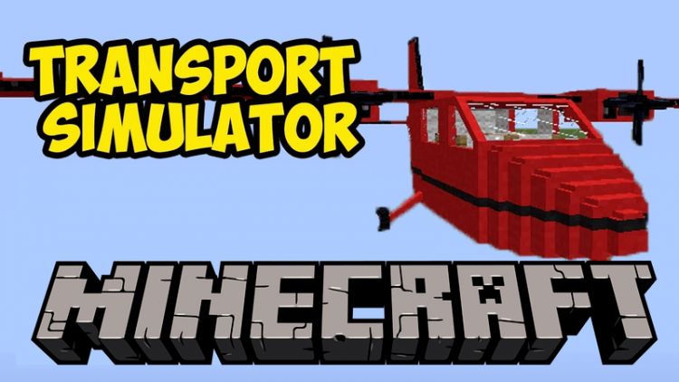 Transport Simulator Mod for minecraft logo