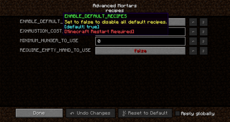 Advanced Mortars mod for minecraft 09