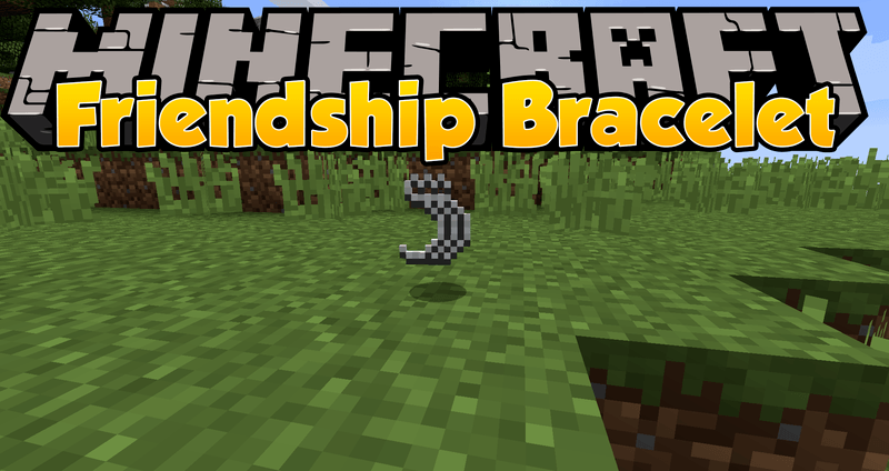 Friendship Bracelet mod for minecraft logo