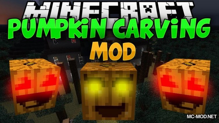Pumpkin Carving Mod for Minecraft Logo