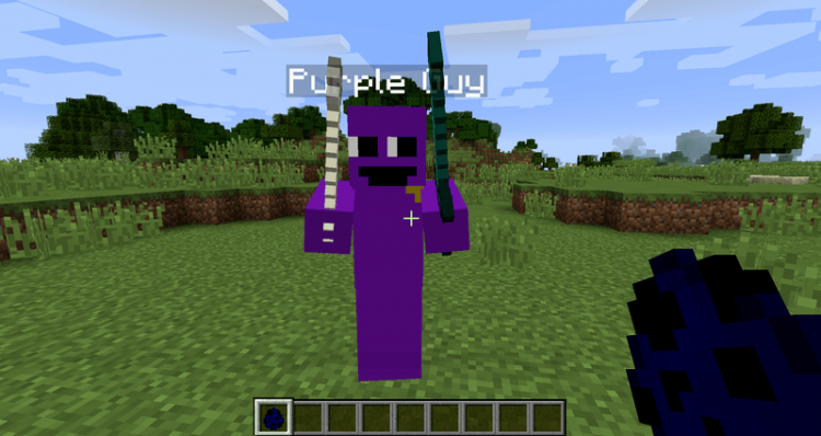Purple Guy Mod for minecraft 03