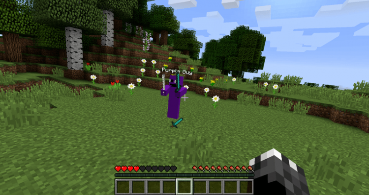 Purple Guy Mod for minecraft 04