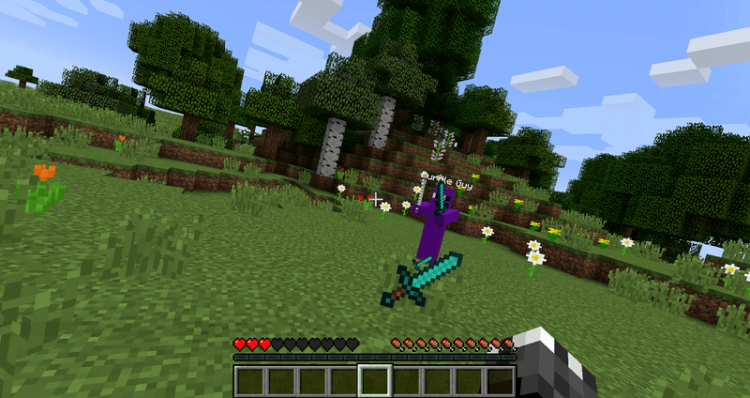 Purple Guy Mod for minecraft 05