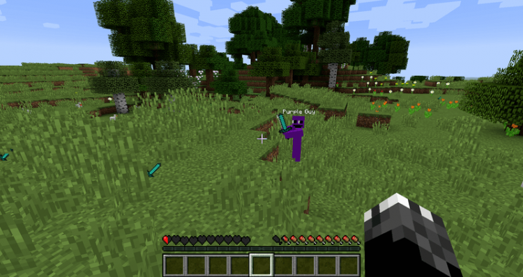 Purple Guy Mod for minecraft 06