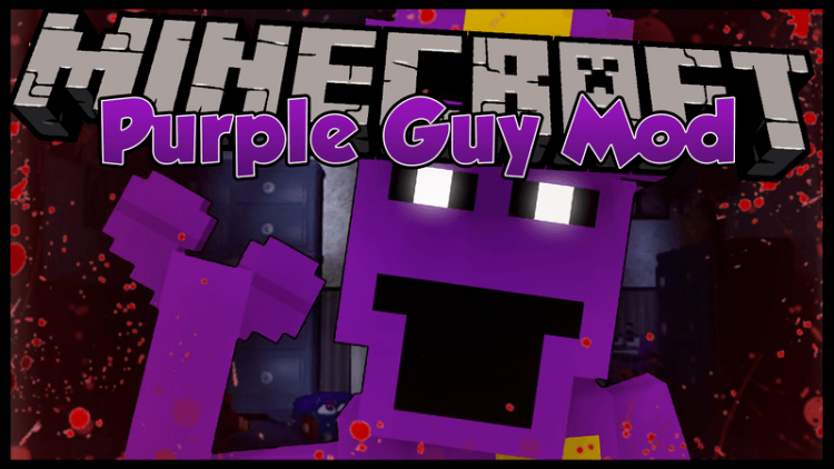 Purple Guy Mod for minecraft logo
