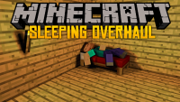 Sleeping Overhaul mod for minecraft logo