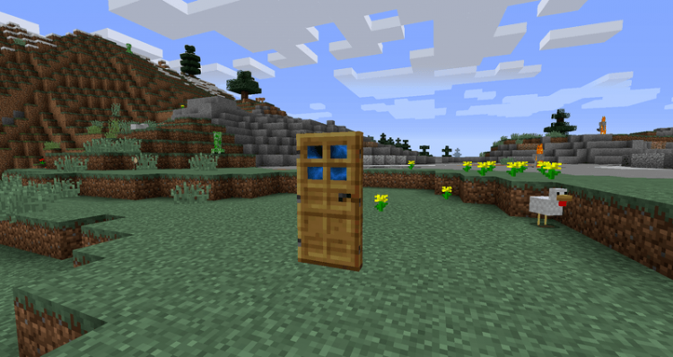 Dimensional Doors mod for minecraft 01