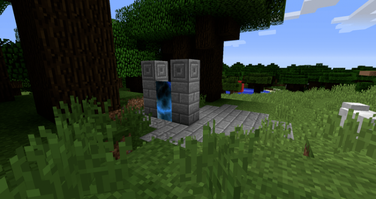 Dimensional Doors mod for minecraft 02