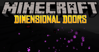 Dimensional Doors mod for minecraft logo