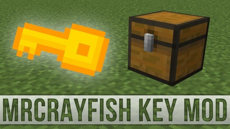 DrCrayfishs Key Mod for minecraft logo